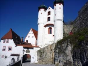 Baumeisterarbeiten Schloss Parsberg